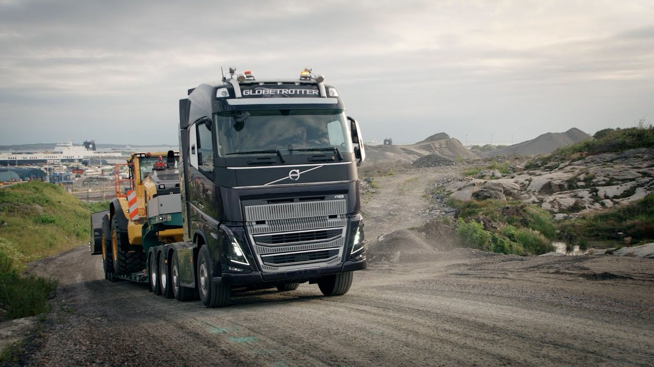 Volvo Trucks The New Volvo Fh16 Uncompromised Power Efficiency Youtube