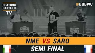 NME vs Saro - Loop Station Semi Final - 5th Beatbox Battle W...