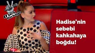 Hadise'nin yarışmacıya dönmeme sebebi herkesi kahkahaya boğdu! | O Ses Türkiye 2018