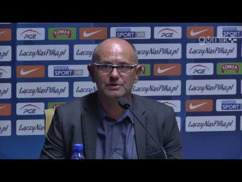 Konferencja: Górnik Zabrze 0:2 Wigry Suwałki (20.09.2016)