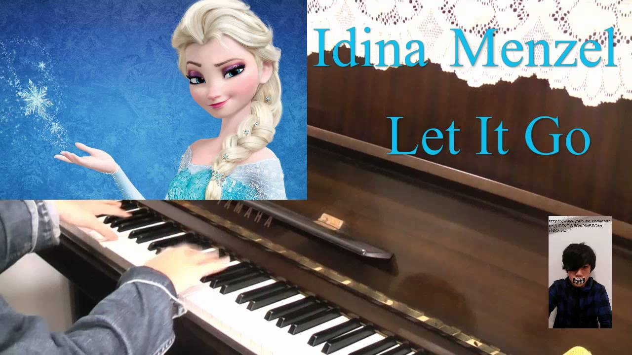 Idina Menzel(伊迪娜蔓佐) - Let It Go(讓它去吧) 鋼琴版 Piano Cover ...  Idina Menzel(�...