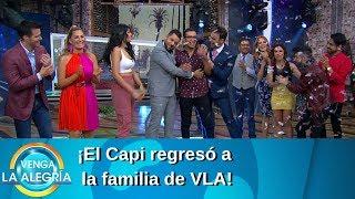 ¡El Capi regresó con su familia de VLA! | Programa del 15 de julio de 2019 | Venga La Alegría