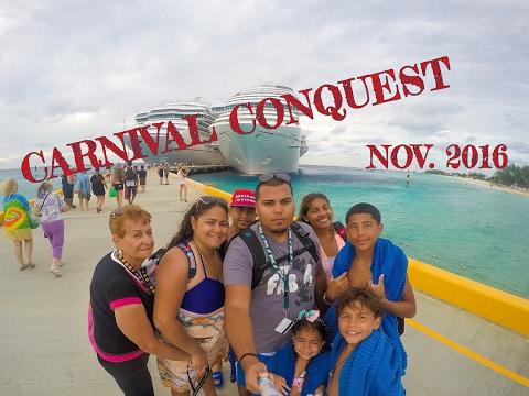 Carnival Conquest Nov. 2016