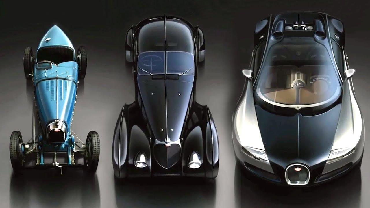 """История бренда """"Bugatti"""""""
