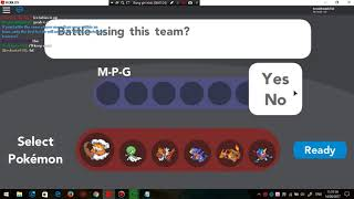 Roblox - Pokemon Ziegel Bronze Kampf mit Freund - MPG