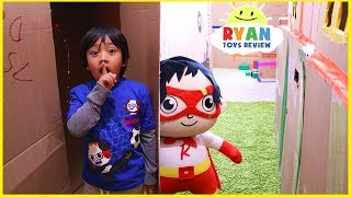 Download Ryan in Giant Box Fort Maze Challenge!!! Mp3 and Videos