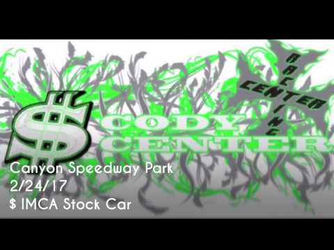 2/24/17 Canyon Speedway Park IMCA Stock Car