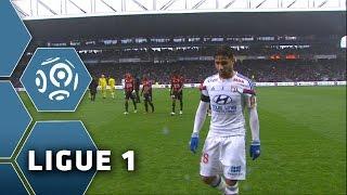 Olympique Lyonnais - OGC Nice (1-2)  - Résumé - (OL - OGCN) / 2014-15