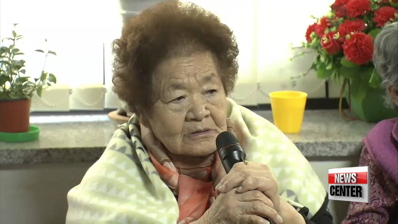 Gov′t officials visit survivors of Japan′s wartime sex crimes