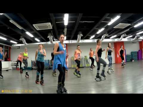 Kangoo Jumps Master Class Oxana Mosescu Trainer