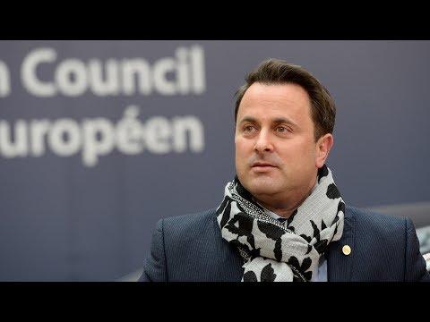 Exclusive interview with Luxemburg PM Xavier Bettel