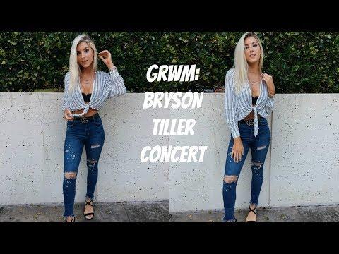 GRWM: BRYSON TILLER CONCERT