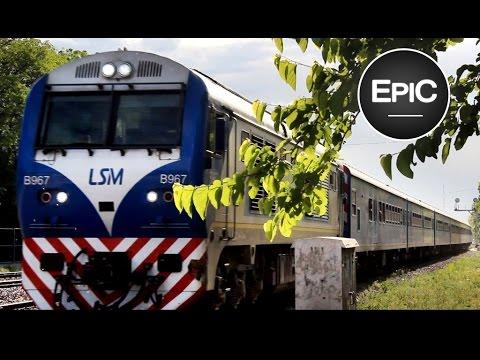 Ferrocarril Línea San Martin / San Martín (Rail Line) - Buenos Aires, Argentina (HD)