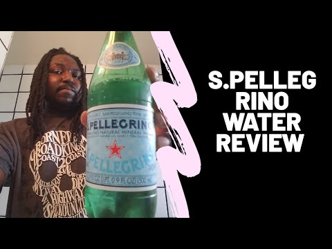S Pellegrino Mineral Water Review