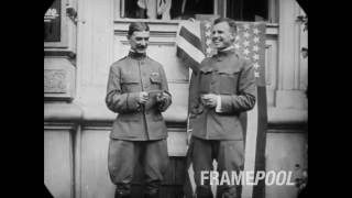 c1914 - Scenes in Berlin, Germany (speed corrected w/ added sound)