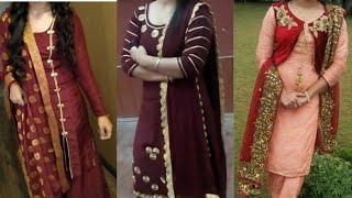 Lace Design Idea On Salwar Suit 2019// New Punjabi Suit Lace Design