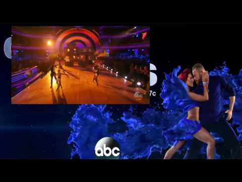 James  and Jenna  and Calvin  and Lindsay Team Up DWTS23