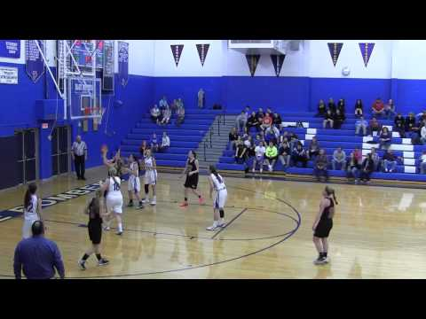 2014-15 Palmerton Blue Bombers girls basketball team vs Saucon Valley 12 18 2014