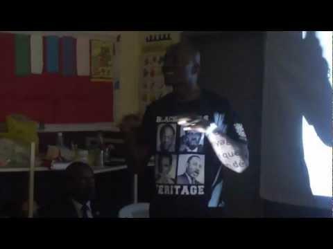Intervention de Dangher au forum kamit de la jeunesse entreprenante (Gabon)