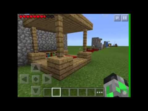 Minecraft Pe 15 Cool And Simple Furniture Ideas Part 1 Youtube