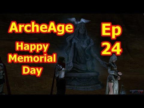 Happy Memorial Day   ArcheAge Alpha Elf Sorcery Gameplay   Ep 24