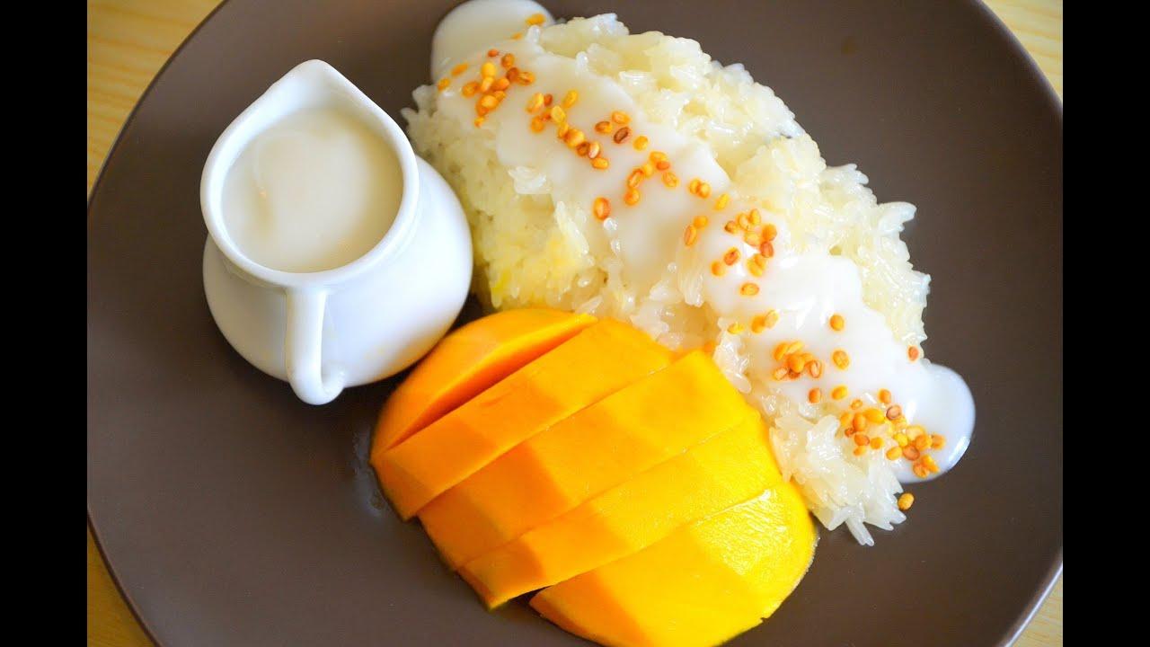 Hasil gambar untuk Nasi Ketan Berpadu dengan Mangga thailand