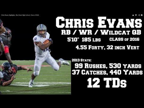Chris Evans Sophomore Football Highlights, Ben Davis High School