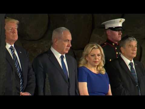 Thumbnail: Trump lays wreath at World Holocaust Remembrance Center
