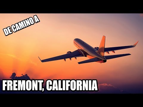 De camino a TESLA Fremont, California