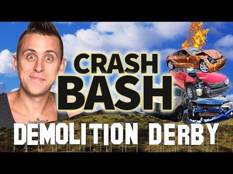 Download Youtube: ROMAN ATWOOD'S DEMOLITION DERBY - CRASH BASH - DRIVERS LIST