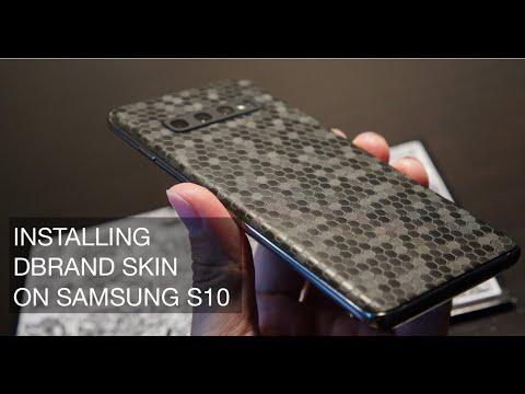 SAMSUNG S10 on dbrand Skin