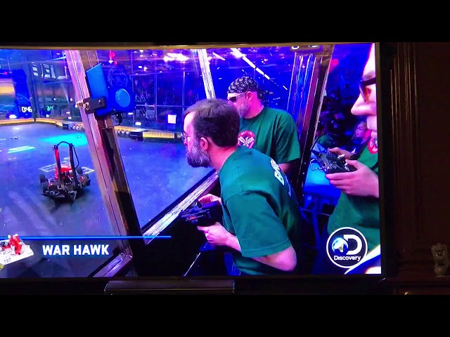 BattleBots- Warhawk vs Free Shipping