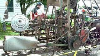 RAGBRAI 2010 - The Machine that does nothing but look cool