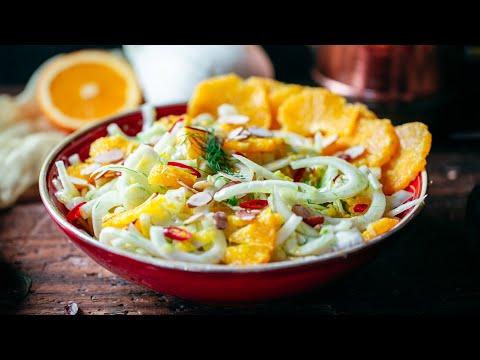 Fennel and Orange Salad Recipe