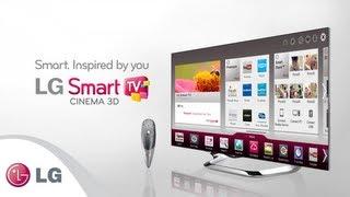 Vídeo introductorio LG Cinema 3D Smart TV 2013