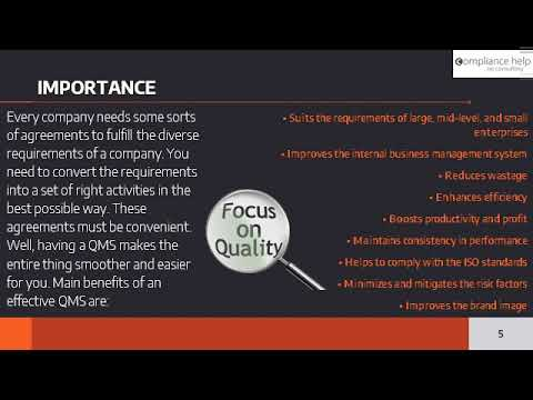 ISO 9001 Quality Management System Definition, Scope, and Importance