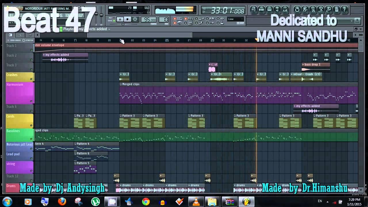 [Beat 47] Harmonium Beat 2 Making in FL Studio | Dr Himanshu & Dj Andysingh  | Punjab Beat | UK VIBEi
