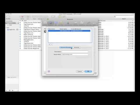 How to change outgoing ports on Mac, Mail program