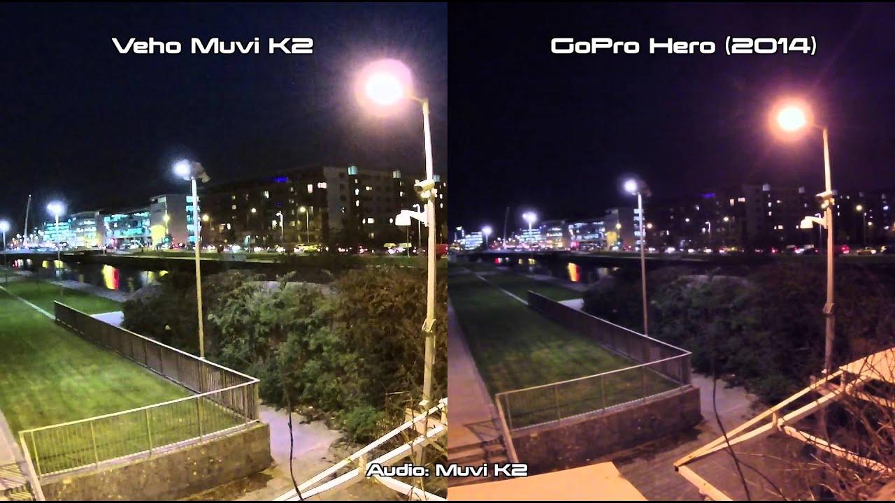Veho Muvi K2 vs GoPro Hero 2014 Night / Low Light S&le Test - YouTube & Veho Muvi K2 vs GoPro Hero 2014 Night / Low Light Sample Test ... azcodes.com