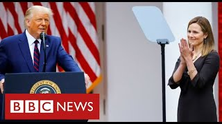 """Joe Biden says Supreme Court nomination is a """"threat to democracy"""" - BBC News"""