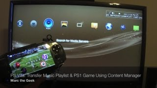 PS Vita - Transfer Music Playlist & PS1 Games Using Content Manager