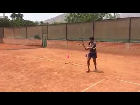 USTA: Red Clay Practice with Luciana of @TennisAffair