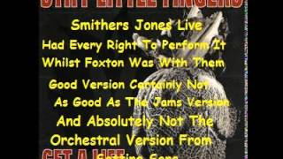 Watch Stiff Little Fingers Smithers Jones Live video