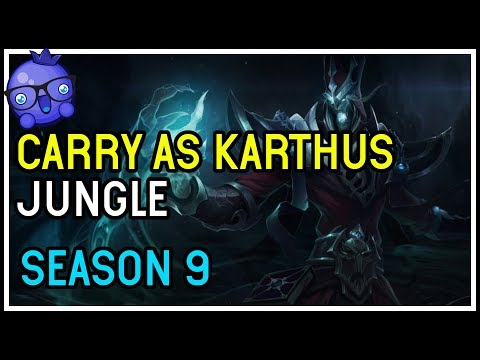 Karthus Jungle is ridiculously easy and OP - League of Legends Season 9