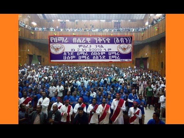???? ???? ???? (???) National Movement of Amhara Convention - Bahir Dar, Ethiopia June 10 2018