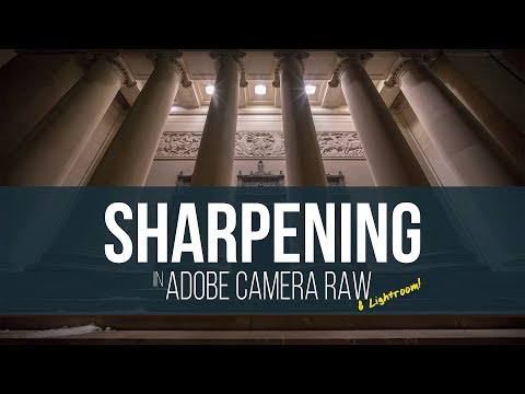High ISO Sharpening in Adobe Camera Raw or Lightroom