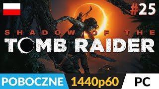 Shadow of the TOMB RAIDER PL (2018) ???? LIVE ???? Ostatnie poboczne i grobowce - Na żywo