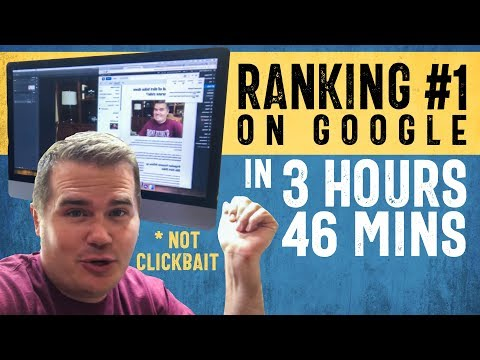 I Got 73% of My Articles to Rank #1 on Google (SEO Tips)
