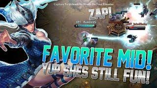 MY FAVORITE MID LANER!! Vainglory 5v5 Gameplay - Varya |CP| Mid Lane Gameplay