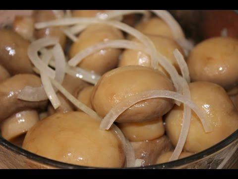 грибы шампиньоны быстрого приготовления